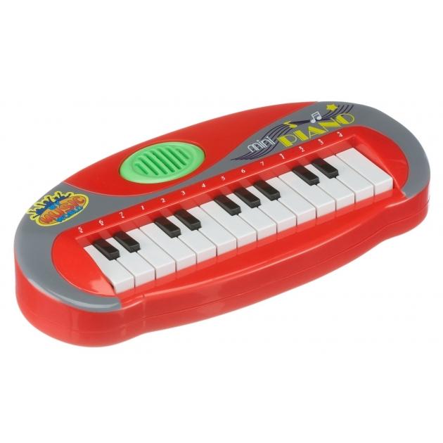 Музыкальная игрушка Simba Пианино мини красное 6835019