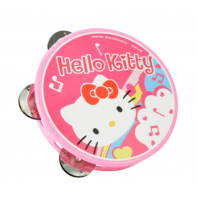 Детский бубен Simba Hello Kitty Тамбурин 6835488
