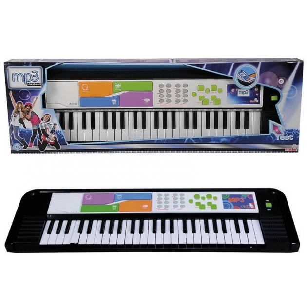 Игрушка музыкальные инструменты Синтезатор 69 см Simba 6837079