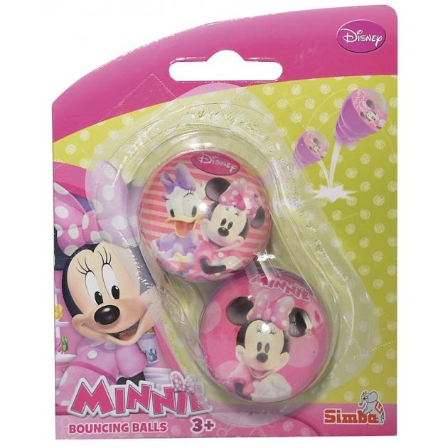 Мячики попрыгунчики Simba Минни Маус 7050148
