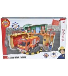 Игровой набор Пожарный Сэм Simba Пожарная станция со светом и звуком 9258282...