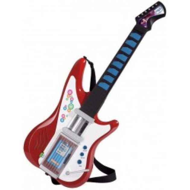 Игрушка музыкальные инструменты Электрогитара совместимая с mp3 Simba 6838628