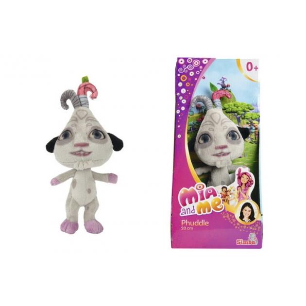 Мягкая игрушка плюшевая phuddle 20 см. mia and me 1/12