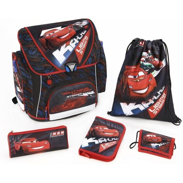 Рюкзак для мальчика Scooli Cars, 5 позиций CA13825