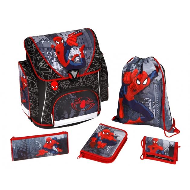 Рюкзак для мальчика Scooli Spider-Man, 5 позиций SP13825