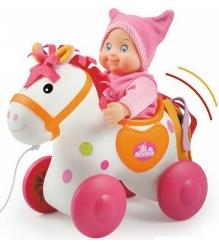 Детская каталка для пупса Smoby Mini Kiss Лошадка 160158...