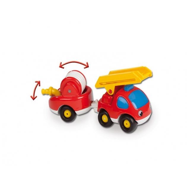 Мини машинка Smoby пожарный грузовик и прицеп 211061