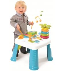 Игровой развивающий центр Smoby Cotoons Столик голубой 211067