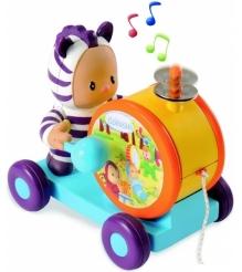 Детская каталка Smoby Каталка-тамбурин 211191