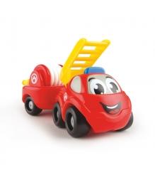 Набор игровой Smoby Vroom Planet Мини грузовик пожарный с прицепом 211262