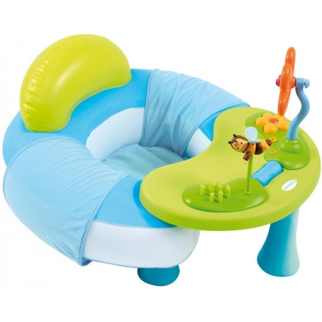 Игровой развивающий надувной центр Smoby голубой 211308