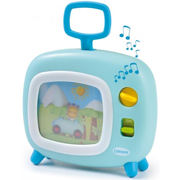Музыкальная игрушка Smoby Телевизор голубой 211316