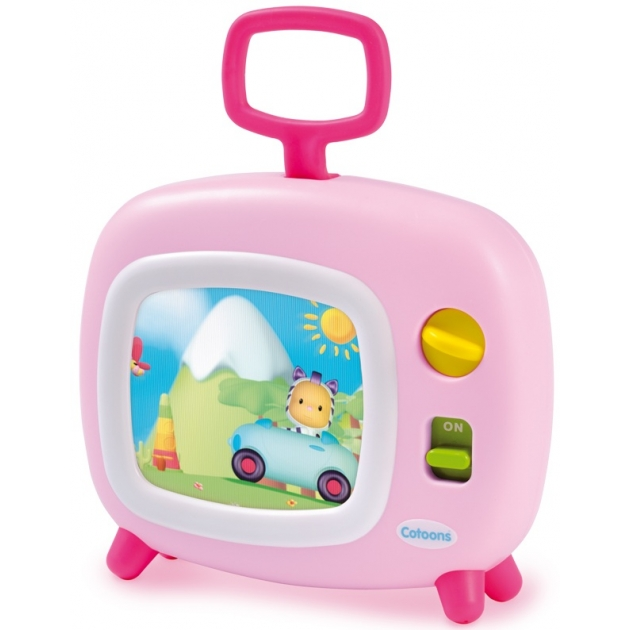 Музыкальная игрушка Smoby Телевизор розовый 211316