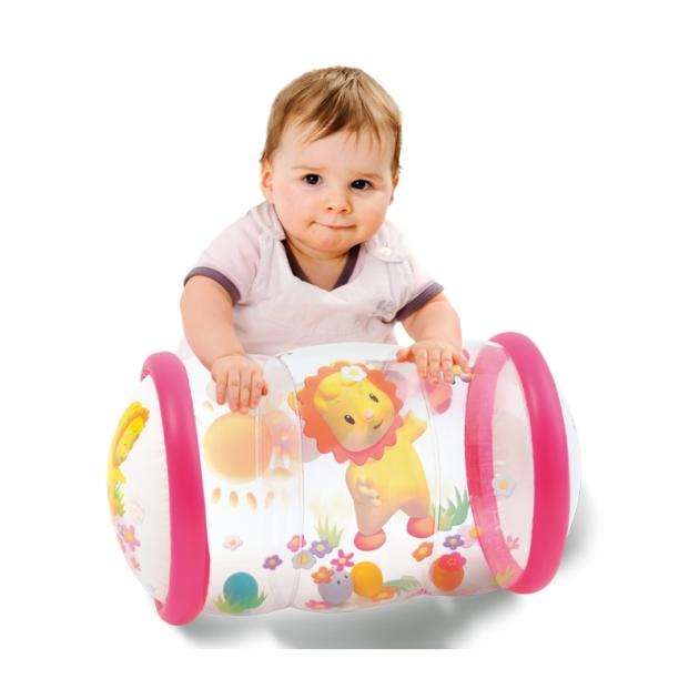 Игровой цилиндр Smoby Cotoons Надувной с шариками Pink 211318