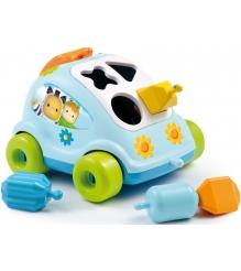 Пластиковый сортер Smoby Автомобиль с фигурками голубой 211323...