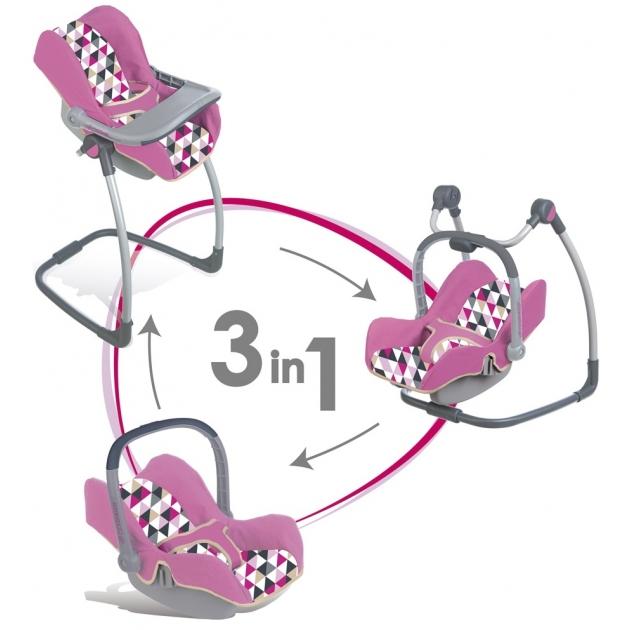 Стульчик переноска 3 в 1 Smoby MC&Quinny 240226