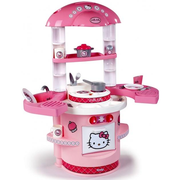 Детская кухня Smoby Моя первая кухня Hello Kitty 24078