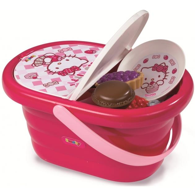 Набор посудки в корзине для пикника Smoby 24084