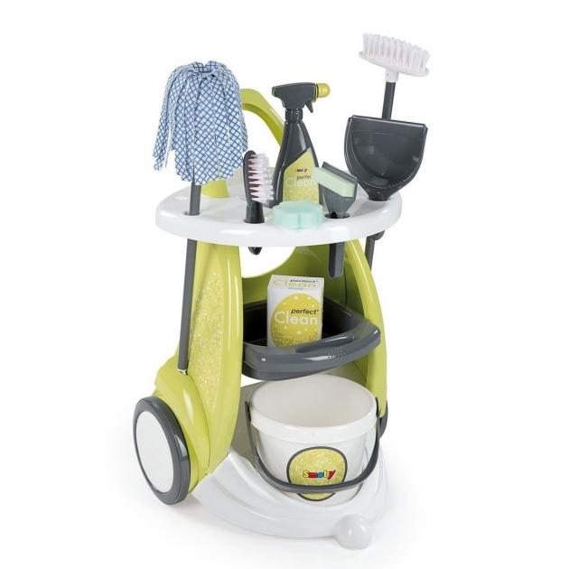 Игрушка набор для уборки с тележкой Smoby 24086