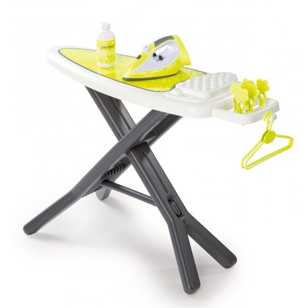 Игрушка для уборки Гладильная доска с утюгом Tefal Smoby 24088