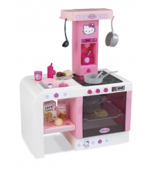 Детская электронная кухня Smoby miniTefal Cheftronic Hello Kitty 24195