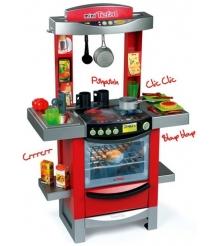 Детская кухня электронная Smoby miniTefal Cook tronic c водой 24253