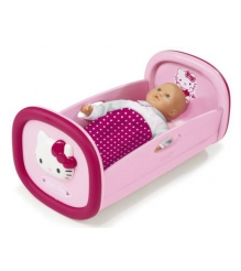 Кроватка для куклы Smoby Hello Kitty 24267