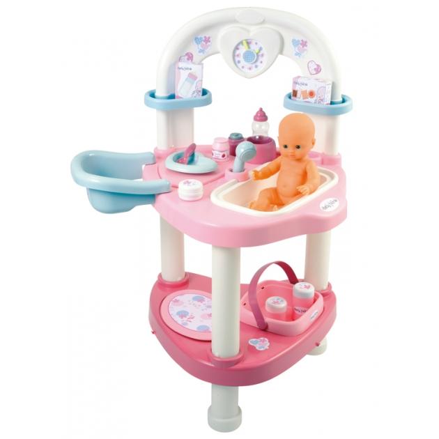 Набор для кормления и купания пупса Smoby Baby Nurse 24663