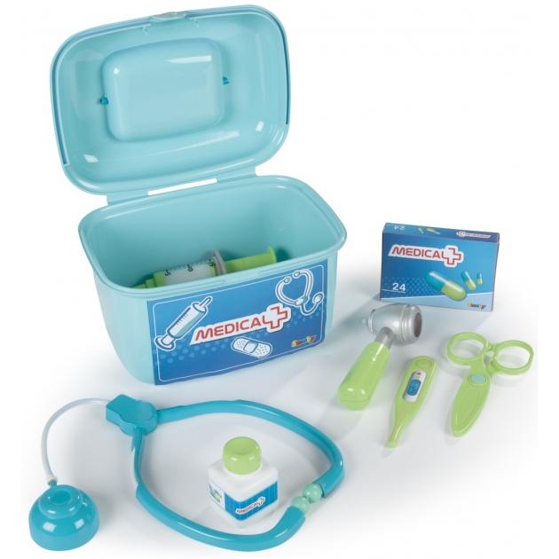 Игрушки больница Smoby Набор доктора в чемодане 24656