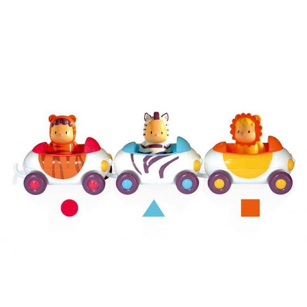 Машинка Smoby Cotoons с героями пассажирами 257727