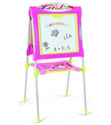 Детский мольберт Smoby двухсторонний розовый 28064...