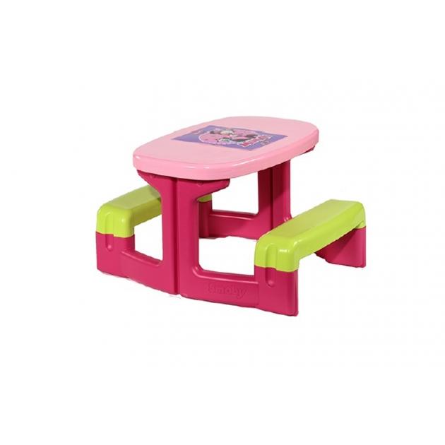Детский столик для улицы и пикника Smoby серии Minnie 310291
