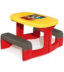 Детский столик для улицы для пикника Smoby Cars 310292