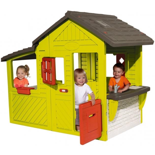 Детский домик Smoby со звонком Neo Floralie 310300