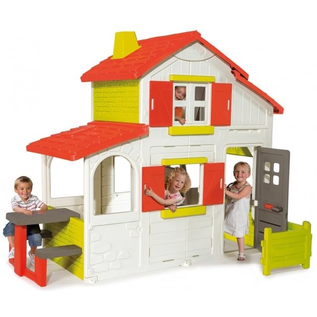 Детский домик Smoby двухэтажный Duplex 320023