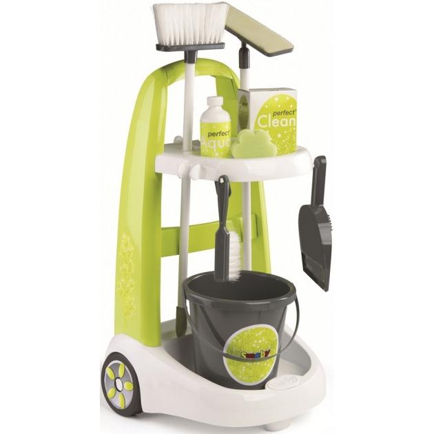 Игровой набор Smoby Тележка для уборки 330300