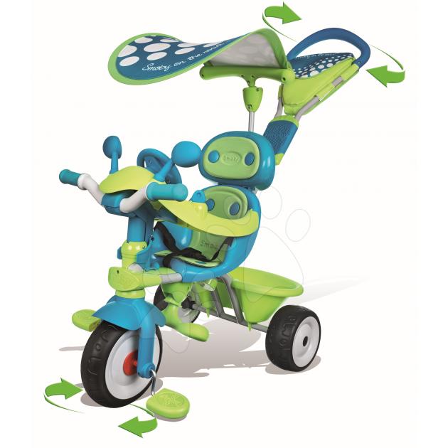 Трехколесный детский велосипед Smoby Baby driver confort Sport 434105
