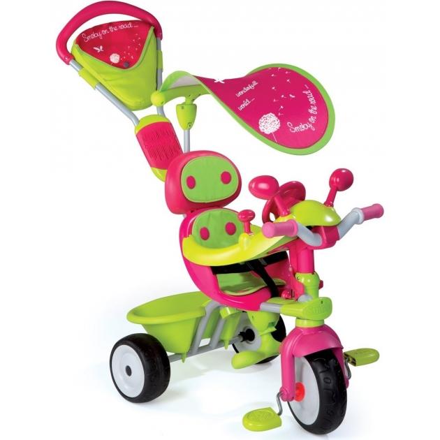 Трехколесный детский велосипед Smoby Baby driver confort Fille 434118