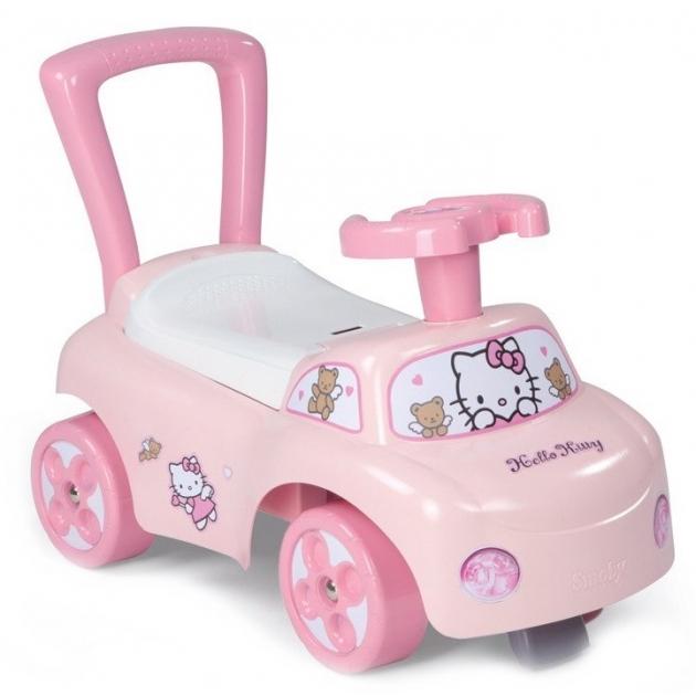 Каталка толокар Smoby Hello Kitty 443010 54*27*40 см