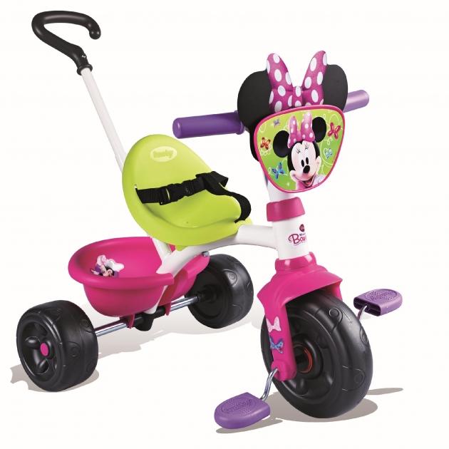 Трехколесный детский велосипед Smoby Be Move Minnie 444117
