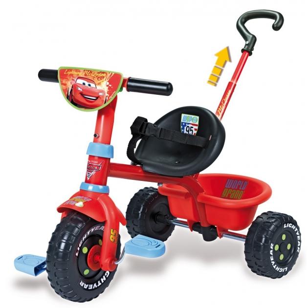 Трехколесный детский велосипед Smoby Be Fun Cars 444147