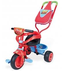 Трехколесный детский велосипед Smoby Be Fun Confort Cars 444166