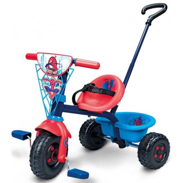 Трехколесный детский велосипед Smoby Be Fun Человек-паук 444168