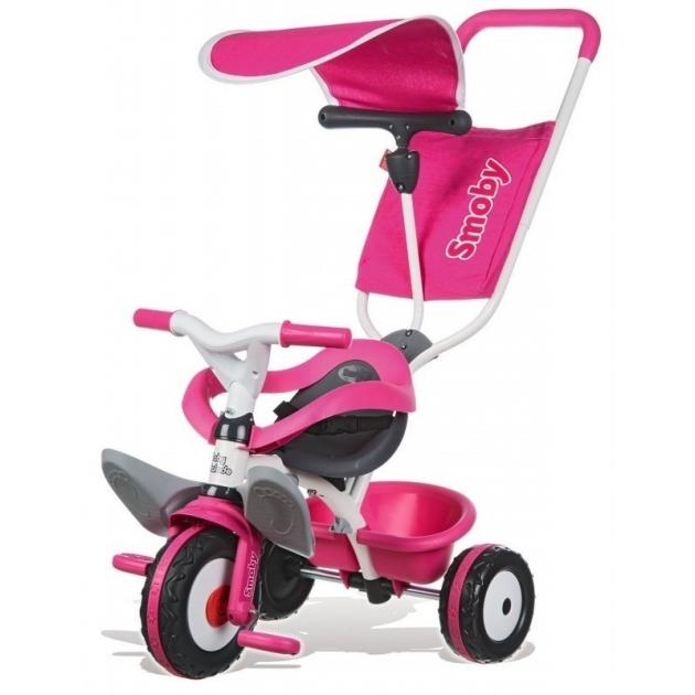 Трехколесный детский велосипед Smoby Baby Balade Pink 444207