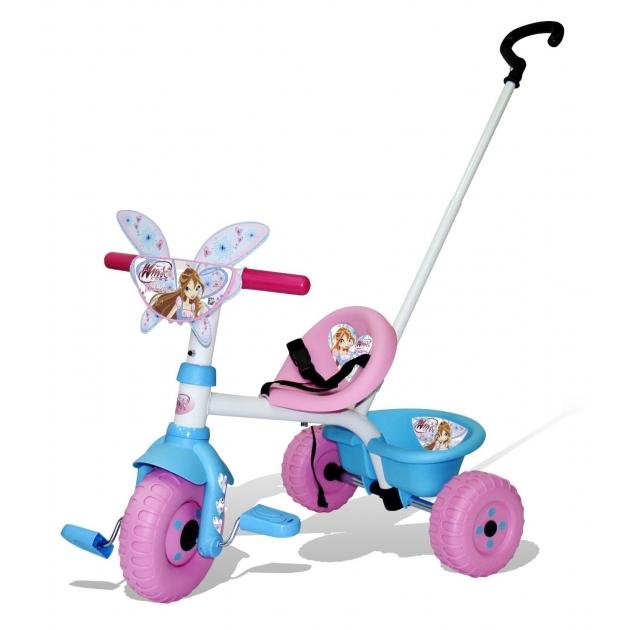 Трехколесный детский велосипед Smoby Winx 444362