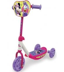 Трехколесный самокат Smoby Minnie Mouse 450145