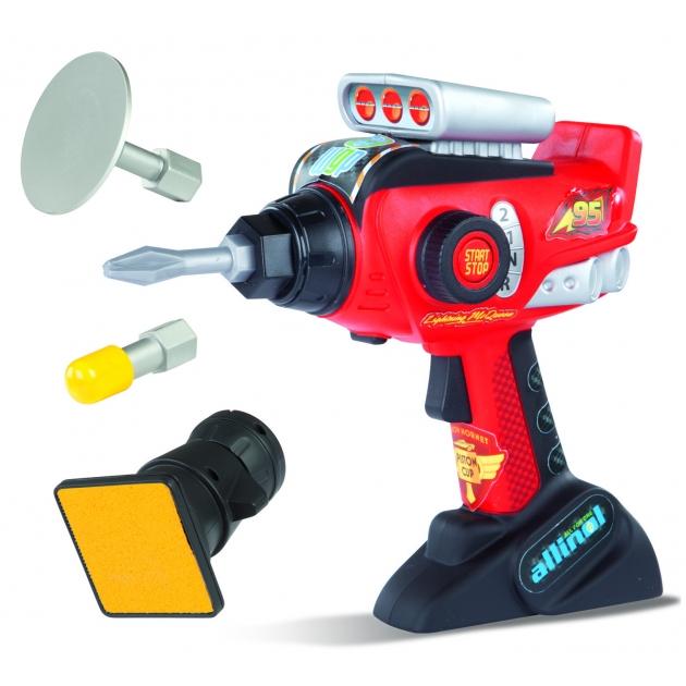Набор инструментов электронный шуруповерт и насадки Тачки 2 Smoby 500142