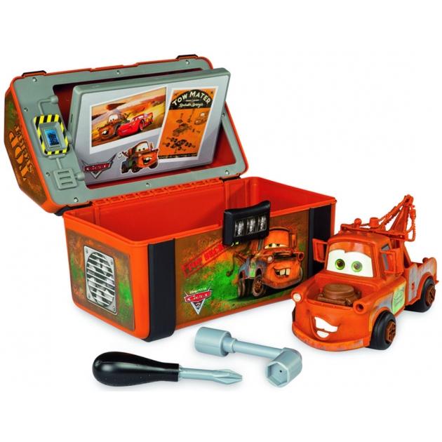 Конструктор Smoby Шпионский набор Мэтр в чемоданчике Тачки 500141