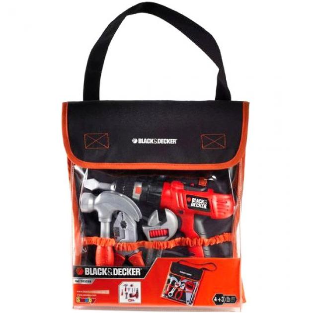 Набор инструментов в сумке BlackDecker Smoby 500179