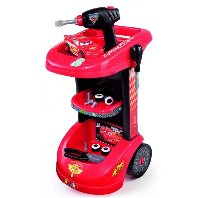Детская мастерская Smoby Тележка с инструментами Тачки 500188